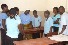 Formation professionnelle des jeunes en couture à Bouake