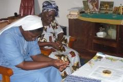 Visite et communion des malades à la paroisse de Morofe