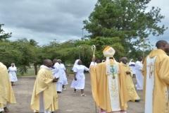 Les retrouvailles après la messe